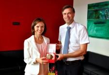 Britanska veleposlanica obiskala NM-MO Novo mesto-FOTO