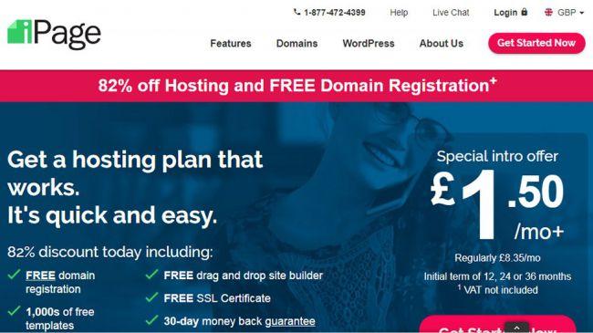Spletno gostovanje. slika - iPage