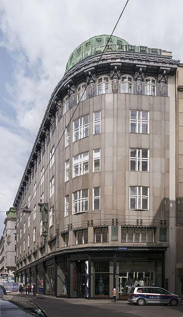 Jože Plečnik - Zacherlova hiša na Dunaju