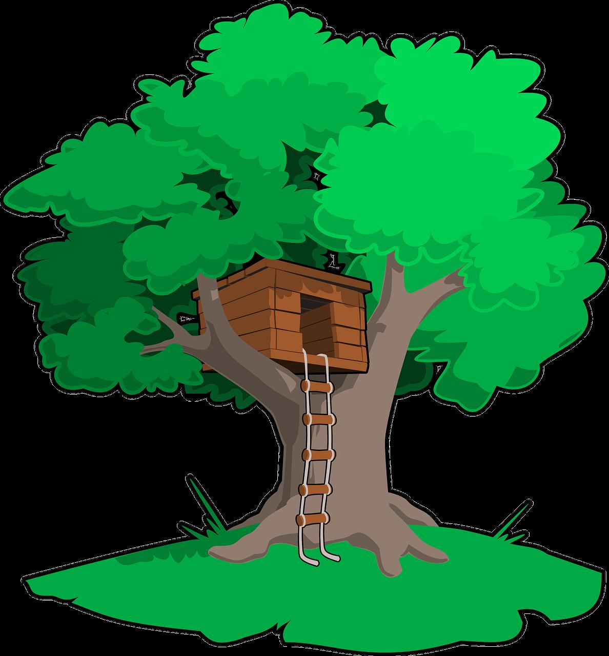 hišica na drevesu 2