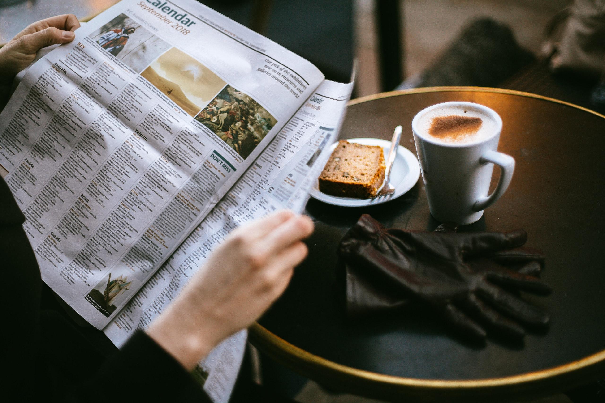 branje časopisa