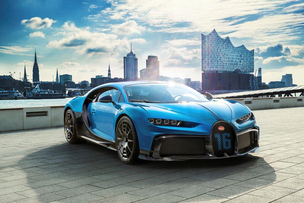 Deveti najdražji avtomobil na svetu je Bugatti Chiron Pur Sport (vir: Bugatti.com)