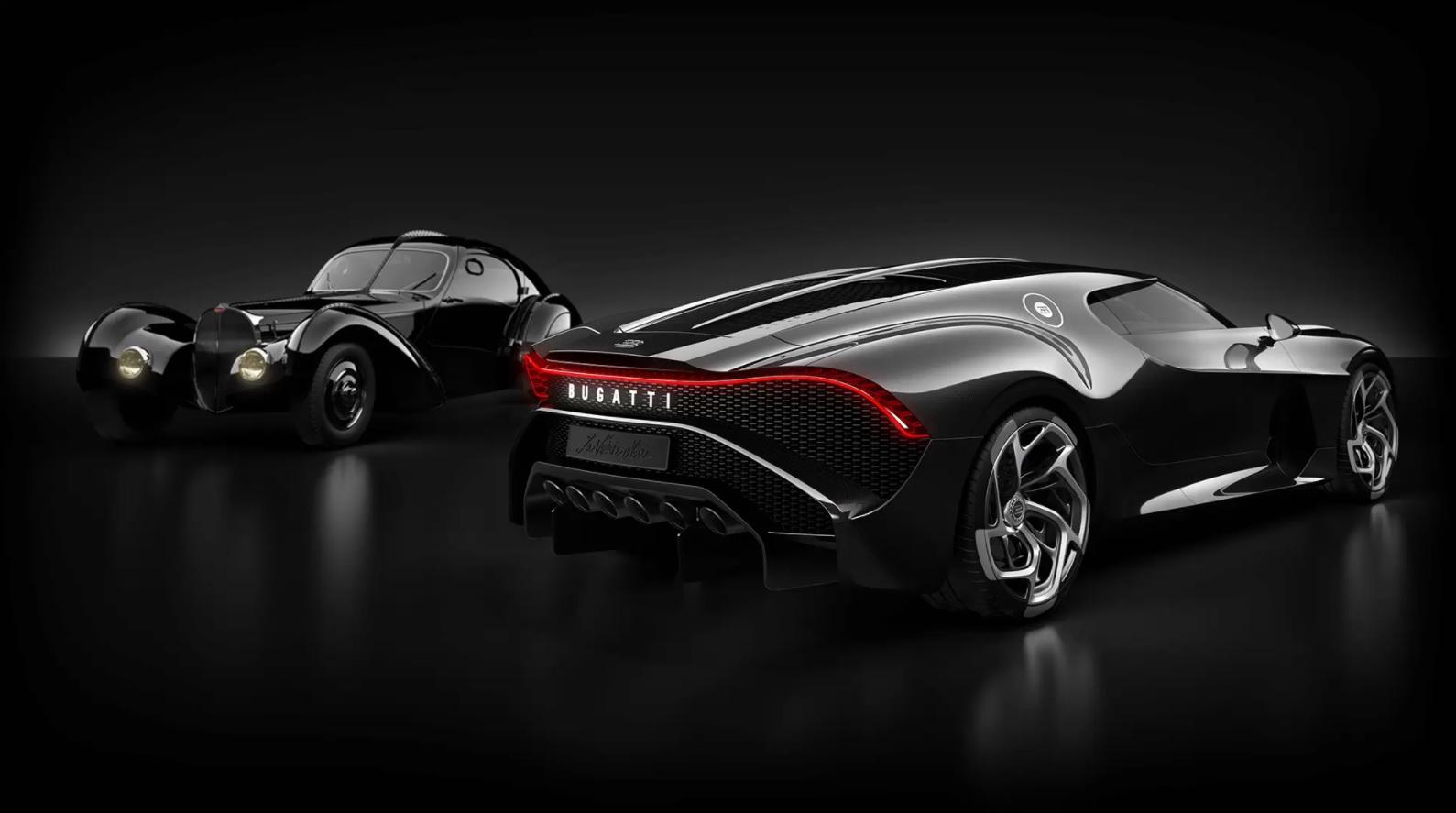 Najdražji avtomobil na svetu je Bugatti La Voiture Noire