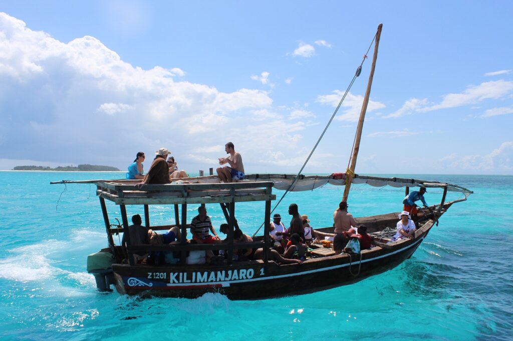 Raziskovanje Zanzibarja na kristalno čistih valovih