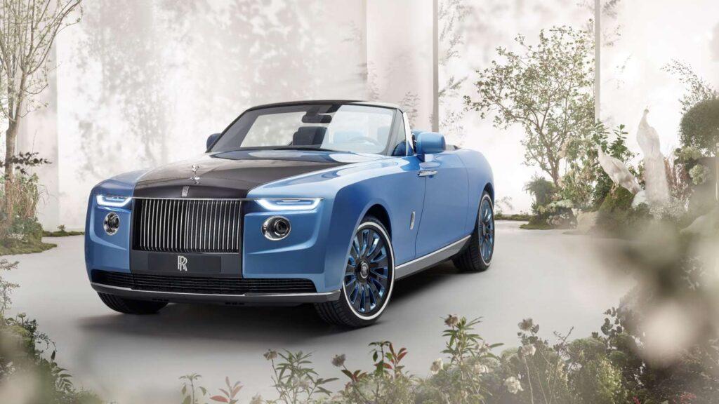 Drugi najdražji avtomobil na svetu je Rolls-Royce Boat Tail (vir: Rolls-Royce.com)