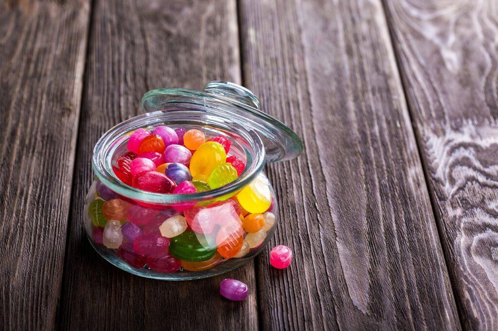 Sladkarije vsebujejo veliko vsebnost aditivov
